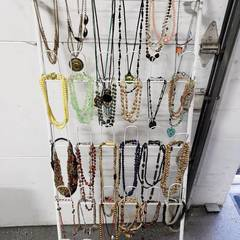 Lot Of 50+ Necklaces, Bolo Ties, Rosaries