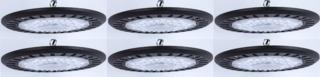 NEW (6) 150 WATT UFO LED HIGHBAY LIGHTS 150WUFO