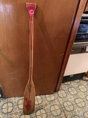 WOODEN BOAT PADDLE