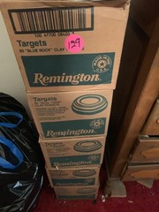 5 BOXES OF CLAY TARGETS