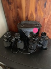 2 PAIR OF BINOCULARS AND ONE CASE