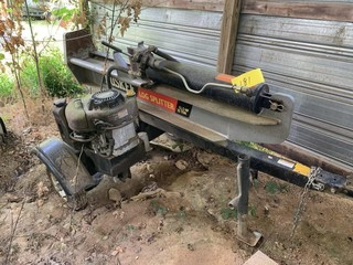 HUSKY LOG SPLITTER 12.5HP 35 TON