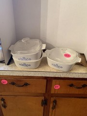 3 PIECE CORNINGWARE