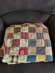 NICE HAND SEWN QUILT