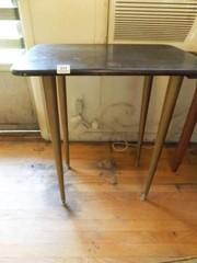 Wood Table 29  tall x 26  x 18