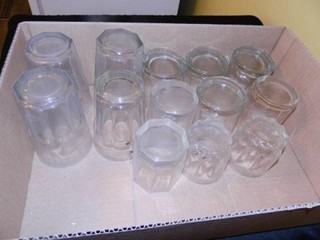 Drinking Glasses  Assorted   13