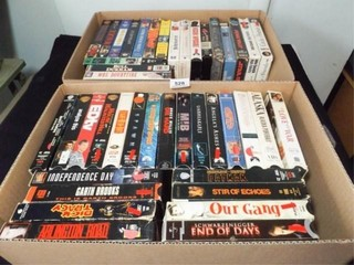 VHS Tapes   Variety  40    2 Boxes
