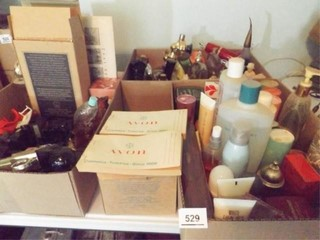 Avon Bottles  Products   3 Boxes