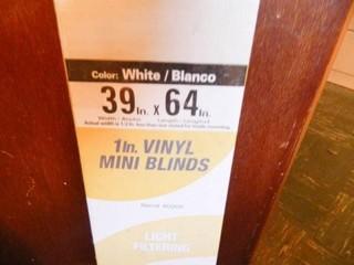 Vertical Mini Blinds  NIB  39  x 64