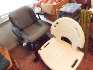 Microlite Motorized Chair  Shower Chair