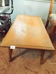 Wood Coffee Table 14  tall x 36  x 19
