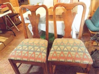Dining Room Chairs  Wood  2