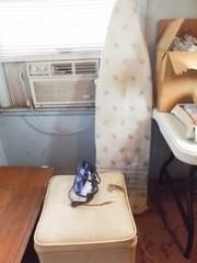 Ironing Board  Iron  Sewing Seat Storage