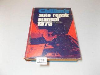 1975 Chilton s Auto Repair Manual
