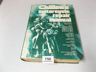 1976 Chilton s Motorcycle Repair Manual