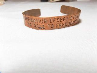 Operation Desert Storm Bracelet
