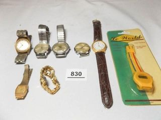 Watches  8    most are Timex