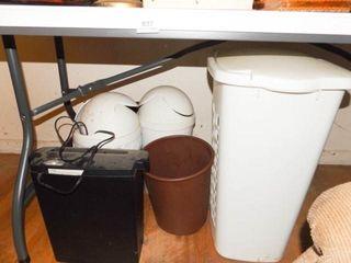 Trash Cans  4  Shredder  Hamper