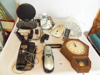 Phones  Fan  Clock  8