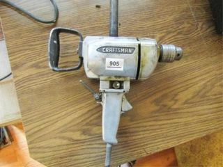 Craftsman Electric Drill