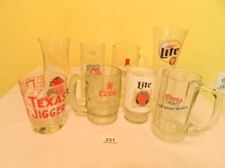 Drinking Glasses Advertising