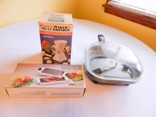 Pasta Maker; Microwave Grill