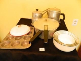 Double Boiler  Coffee Pot