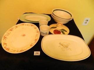 Serving Bowls   Platters
