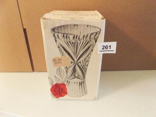 Bleikristall Crystal Vase 24  PBO  in box
