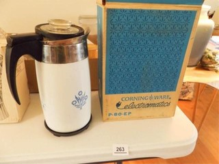 Corning Ware Percolator in Box