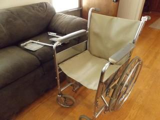 Sun Mark Folding Wheelchair