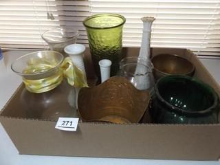 Vases   Variety   1 Box