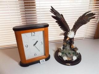 Eagle Figurine  Springfield Clock