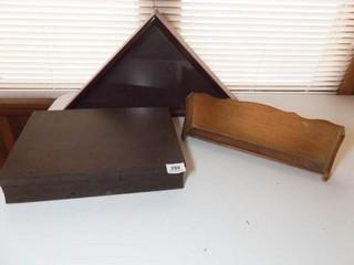 Flag Frame  Flatware Box  Shelf