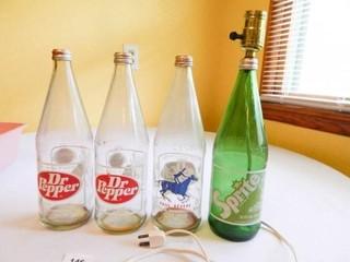Glass Pop Bottles   4