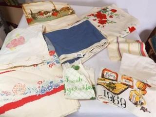 Vintage linens   Variety  9