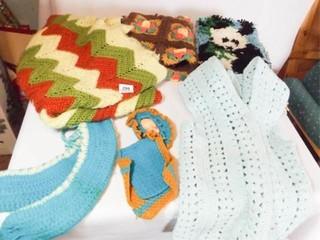 Crochet  Knit  Craft Pieces  6