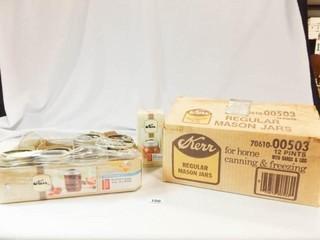 Canning Jars  15  lids