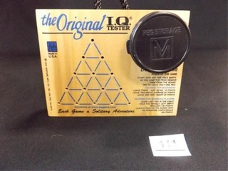IQ Tester Peg Game