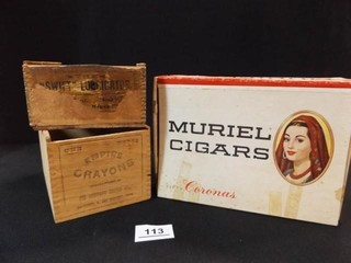 Cigar Box  Wood Packing Boxes  3