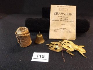 Craw Fish Water Set  Bell  Other