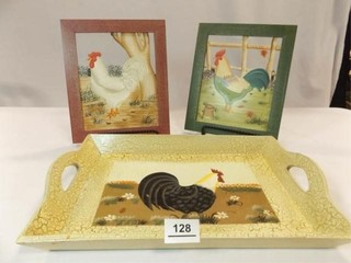Chicken Pictures  2  Tray