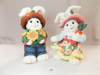 Plaster Type Rabbits  14   2
