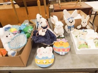Spring Easter Decorations   1 Tub