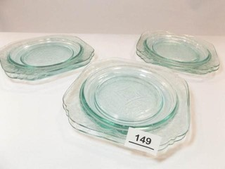Madrid luncheon Plates  Blue  6