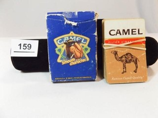 Camel Playing Cards  2 Sets  1 in Box