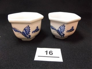 Chinese Butterfly Cups  2