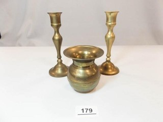 Brass Set  3 Piece