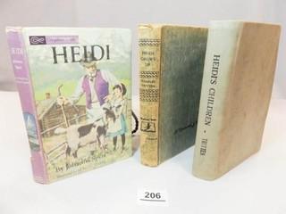 1938  1939  1963 Heidi Books