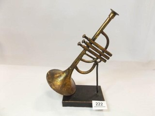 Trumpet Decor Piece  10